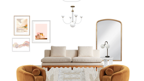 SPRING ONE ROOM CHALLENGE, WEEK TWO: THE VIBE