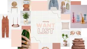 WEDNESDAY WANT LIST