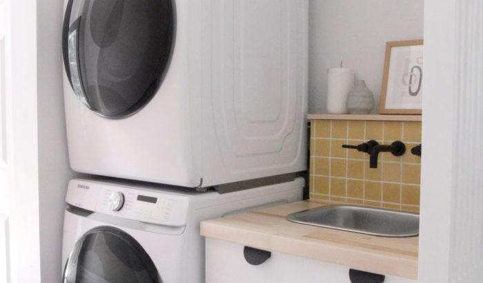 TAKING IT UP A NOTCH WITH SAMSUNG'S NEW FRONT LOADING LAUNDRY MACHINES