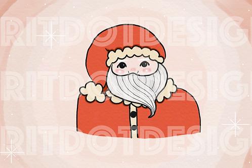 Santa Digital Art