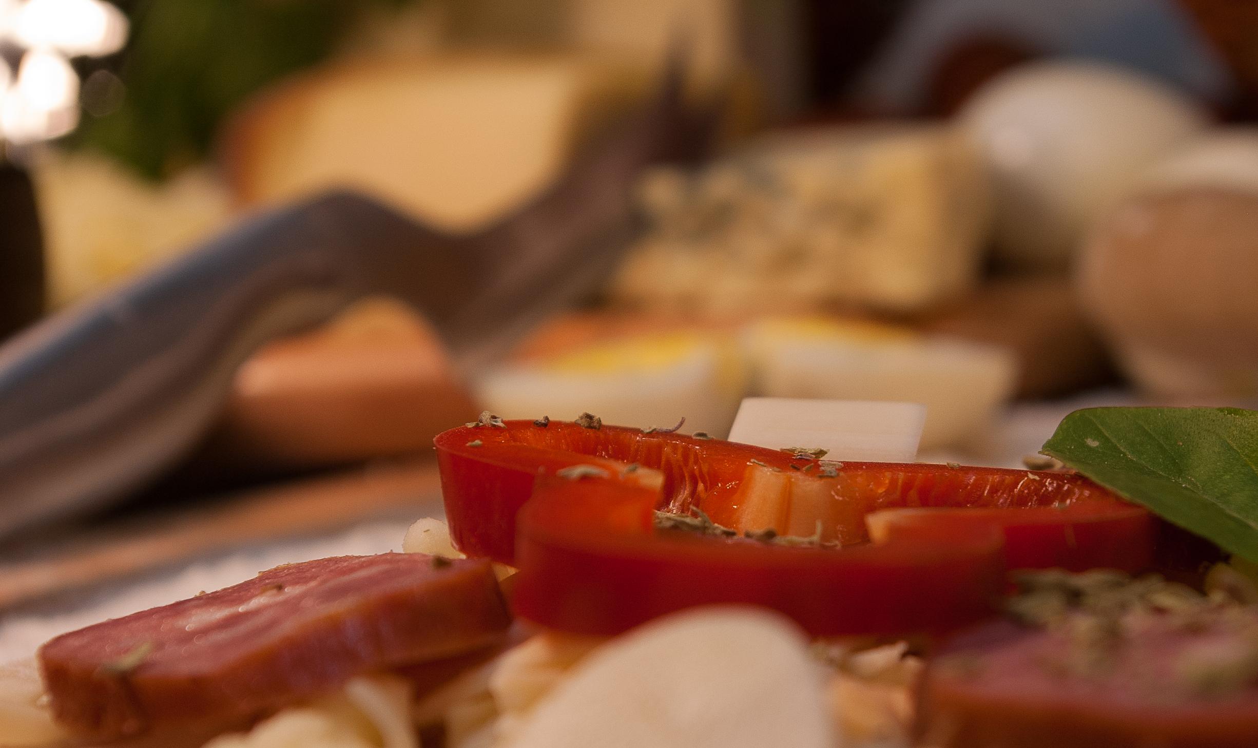 Detalhe da Pizza