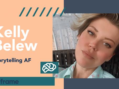 Storytelling AF | Meeting the Real Me in Sobriety, by Kelly Belew