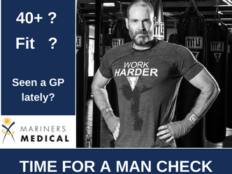 Time for a Man Check. Have you had your medical checks?