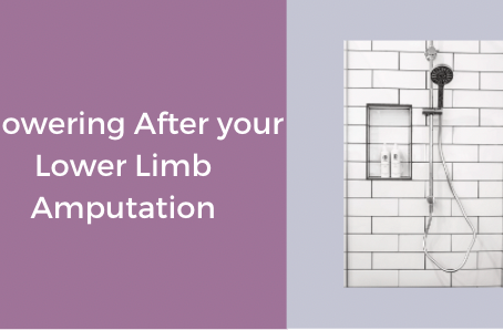 Showering After Your Lower Limb Amputation