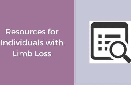 Resources for Individuals with Limb Loss