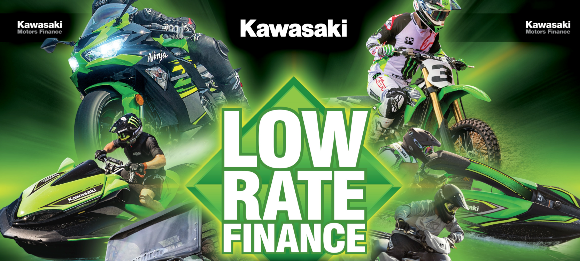 Kawasaki Low rate finance offer