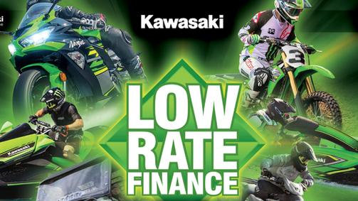 Kawasaki Low rate finance offer