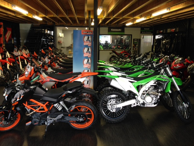 Coastal Motorcycle Centre Showroom I KTM I KAWASAKI