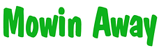 Mowin away logo