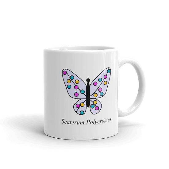 Datavizbutterfly - Scaterum Polycromus - Mug