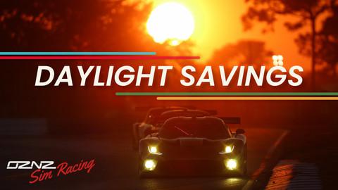 Aussie Daylight Savings starts tonight!
