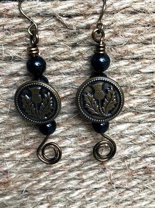 Vintage Button Drops