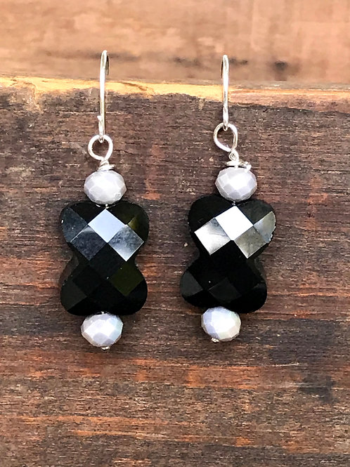 Black and Grey Crystals
