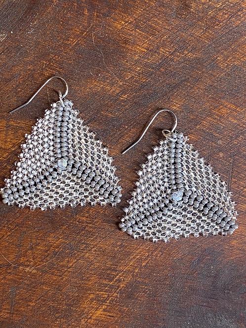 Beaded Triangles