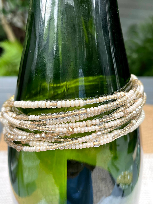 Pearls and Gold Multiwrap