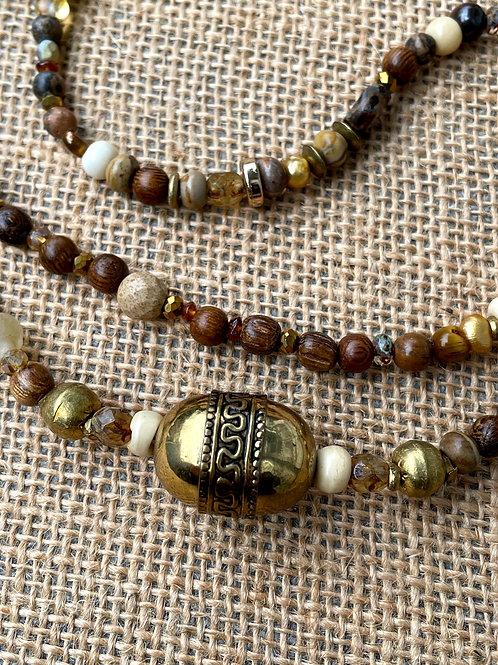 Multiwrap Necklace or Bracelet