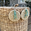 Thumbnail: Rattan with Turquoise