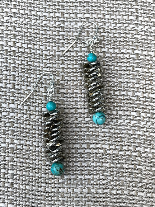 Metal and Turquoise