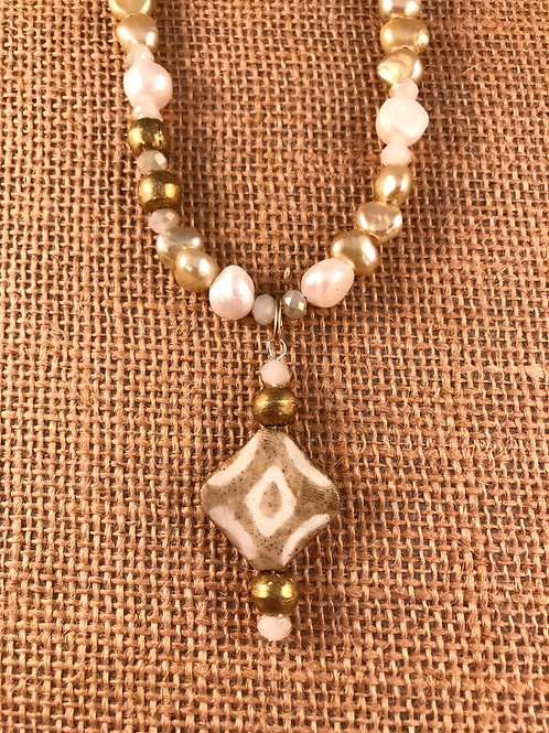Pendant and Pearls