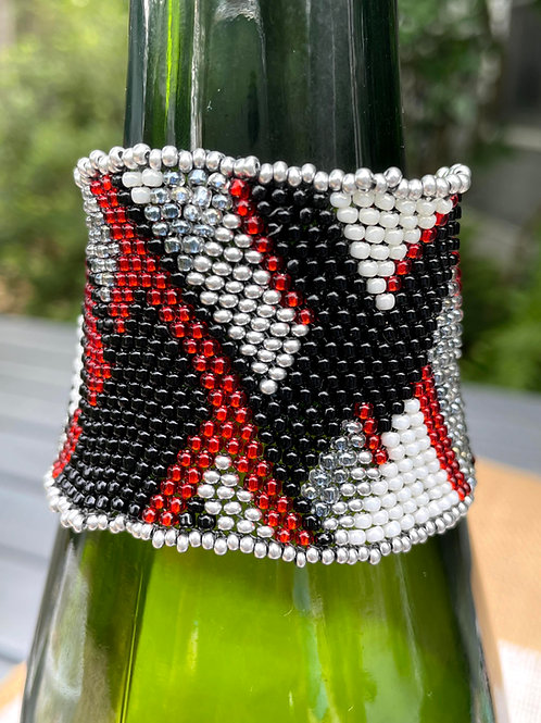 Red and Black Diagonals #1