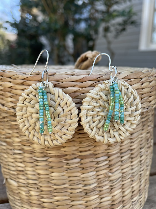 Rattan with Turquoise