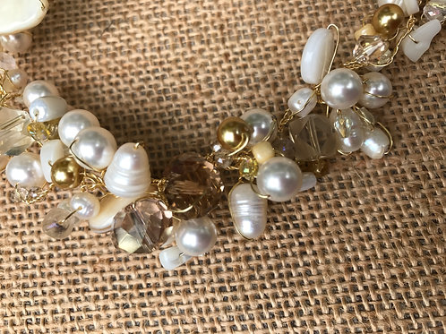 Pearls and Crystals on Wire