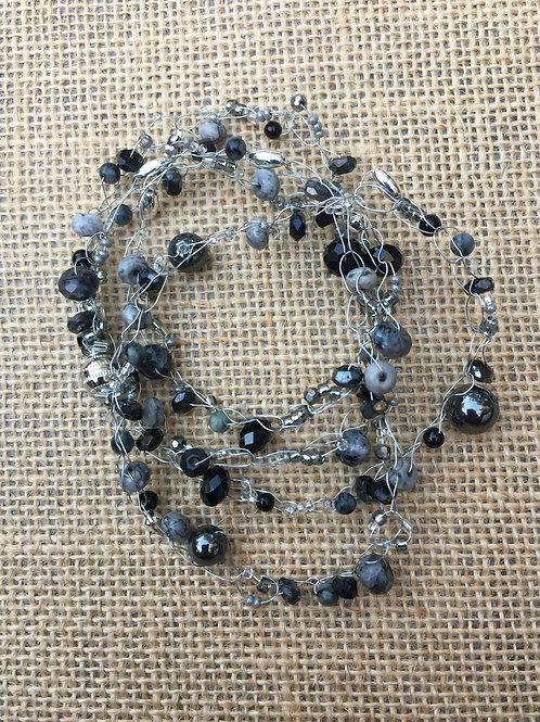 Multi Wrap Choker, Bracelet, Necklace