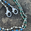 Thumbnail: Mask Chain Necklace in Blues