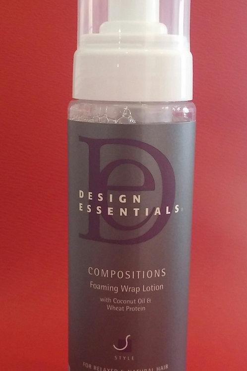 DesignEssentials Compositions Foaming Wrap Lotion