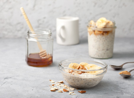 High Protein Overnight Oats