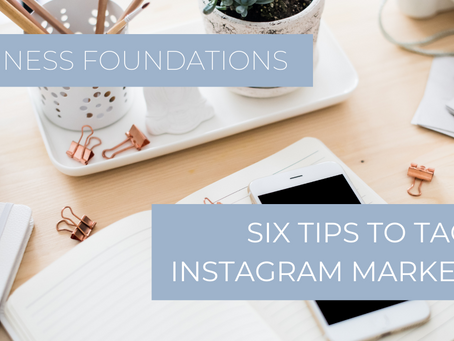 Six Tips to Tackle Instagram Marketing