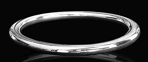 Aro de Tubo en Plata Ley 0.925