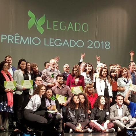 PRÊMIO LEGADO 2018