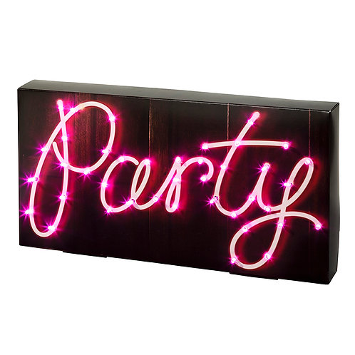 Party Illuminations Party Sign