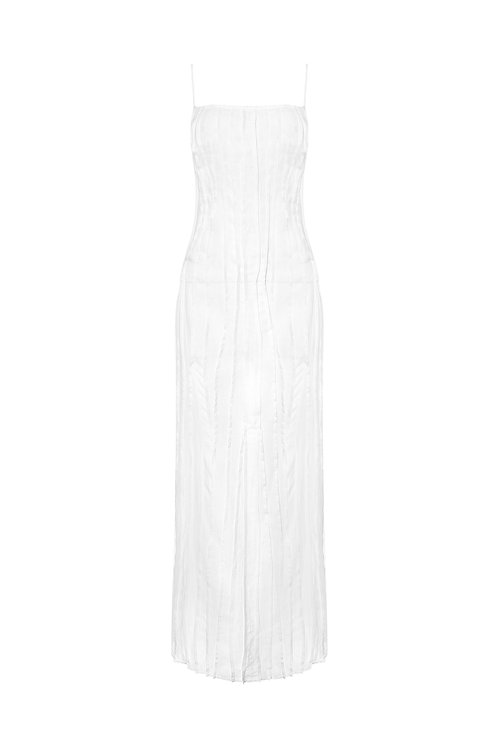 Smocking Slip Dress