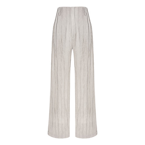 SMOCKING TAILORED TROUSERS
