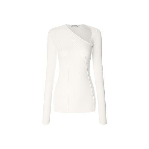 Asymmetrical Cotton Top