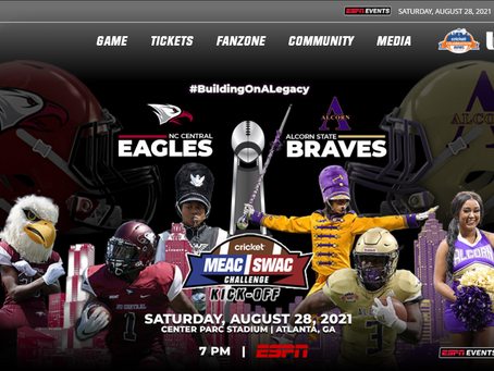 MEAC SWAC Football Game 8.28.2021 at 7pm