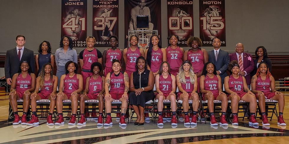 NCCU Women's Basketball Reception and Dinner $20