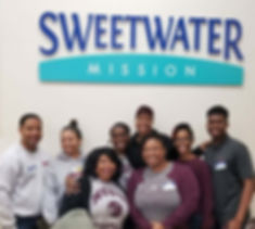 Sweetwater Mission NCCU Volunteers