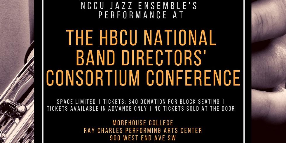 NCCU Jazz Ensemble is Performing in Atlanta