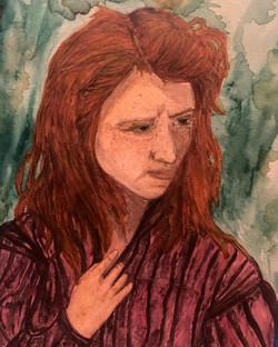 Katiya watercolor on paper
