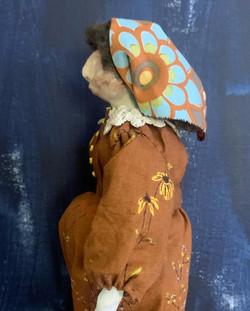 Blanche art doll in progress