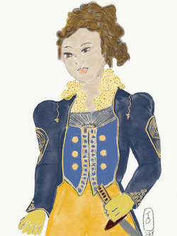 Ringmaster Female Illustration
