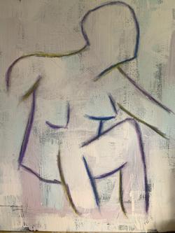 Abstract Human Figure