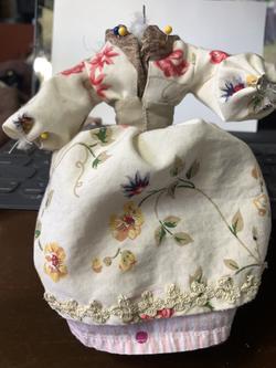 Adeline Art Doll in progress