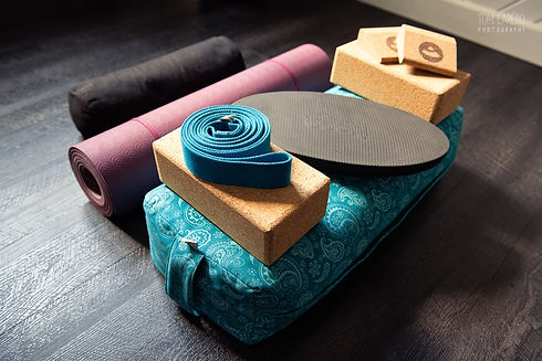 matériel de yoga