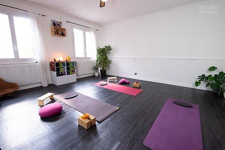yoga en présentiel à Grenoble