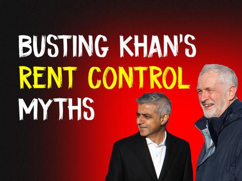 Busting Sadiq Khan's Rent Control Myths