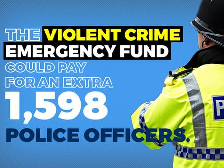 Mayor blocks £104 million fund to fight violent crime